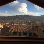 view of cusco day and night