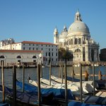 View across the Grand Canale from the breakfast patio
