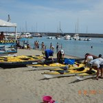 Loading boats on day one @ MM