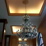 Fancy Chandelier in the Lobby