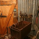 Some of the tools used in the gold mining process