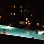 Evening Pool Side