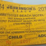 Daily beach passes for an extra fee