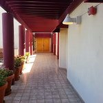 Breezeway leading to room (ahead)