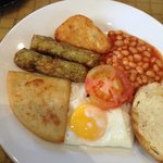 Vegetarian Scottish breakfast