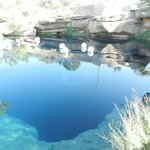 The Blue Hole, Santa Rosa's big attraction