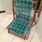 Antique Beach chairs