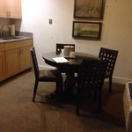 Kitchen and dining area in room 408