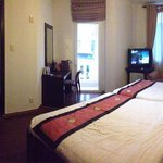 This is the twin bedroom with balcony. Super like it!