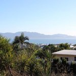The view overlooking Magnetic Island