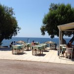 Taverna - view from the pool