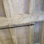 Rough concrete ceilings