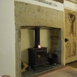 Lovely log burner - not needed during our visit