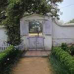 the cute front gate