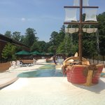 Splash Pad at The Woodlands Hotel & Suites Pool