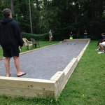 Bocci Ball court and Tournament