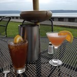 Drinks and a view does not get better than that!!