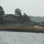 Another home on one of the islands.