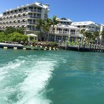 Hyatt Key West Resort from the sea