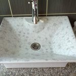 Basin in bathroom - those lovely small touches