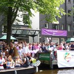 The Pulitzer during Amsterdam Canal Pride 2014