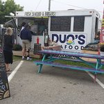 Duo's Seafood, located at Harbor Park - off of Park St behind the Visitor Center and a Rockland