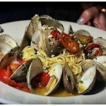 Linguine with Clams on our dinner menu