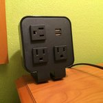 Bedside power station every room