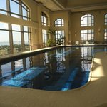 Pool at the JW Spa