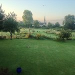 The view from my bedroom window on a summer's morning – alive with possibility!
