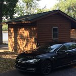 Tesla Charger @ Cedar Lodge