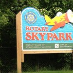 Courtenay's Air Park Playground (the Rotary Club was a huge part of building the playground)
