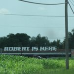 Robert is Here