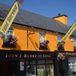 Burke's Bar & Restaurant , Clonbur , Co. Galway