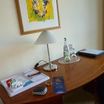 writing desk in the room