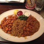 Crawfish Platter with étouffée. Soooo good!