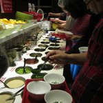 More than 10 types dipping sauce