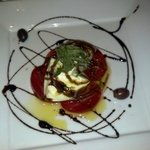 Panna Cotta was light and flavorful!