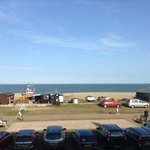 view from Room White Lion Aldeburgh