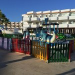 childrens water park (Tapas bar to the rear)