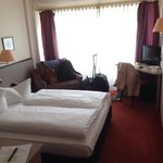 Double room, quite spacious.
