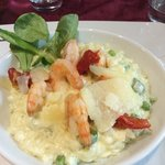Gorgeous seafood risotto
