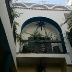 Quiet oasis of the riad