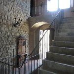 Stairway in the castle