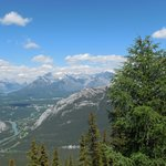 View from Sulphur Mountain