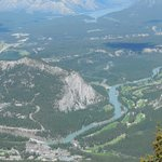 Another view from Sulphur Mountain