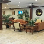 Relax in a comfy, casual setting and enjoy a complimentary cup of coffee.