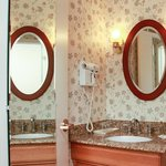 A standard bathroom