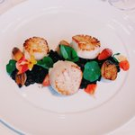 Scallops at Lakehouse Restaurant