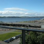 River Tay view from 5th floor bedroom